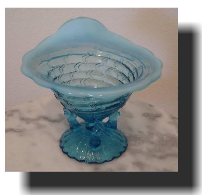 Ocean Shell Novelty Vase